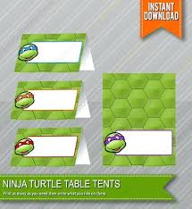 printable birthday cards with turtles printable tmnt printable birthday cards ninja turtles food table