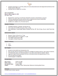 1 Page Resume Templates 1 Page Resume Template