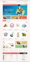 kids market opencart responsive theme by templatemela themeforest