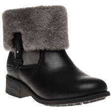 ugg boots sale sole trader womens black ugg chyler boots at soletrader