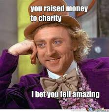 Charity Meme - charity by recyclebin meme center