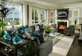 decorated living rooms photos 22 teal living room designs decorating ideas design trends