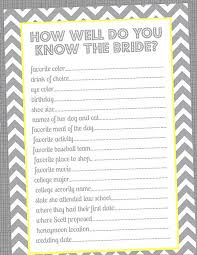 bridal shower question wedding planning wednesday bridal party project d c