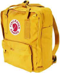 fjallraven kanken mini backpack warm yellow free shipping