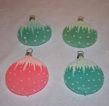 vintage glass ornament ebay