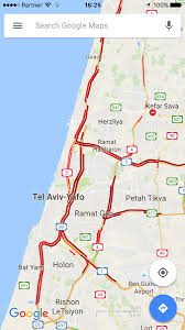 Google Maps Traffic Those Israeli