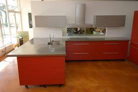 kitchen modern kitchen stainless steel countertops with 2 tier