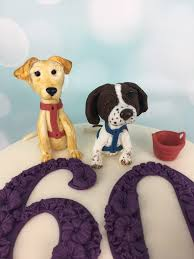 dog cake toppers 6oth birthday cake with dog cake toppers mel s amazing cakes