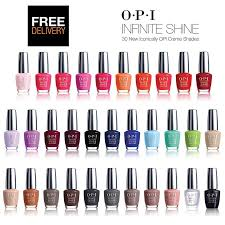 opi gel lacquer nail all range of colours and shades nail gel