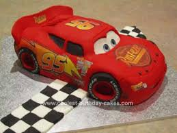 lightning mcqueen cake decals to make a 3d lightning mcqueen car from cars