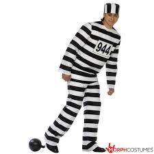 Prisoner Halloween Makeup by Women U0027s Convict Prisoner Costume Morph Costumes Uk