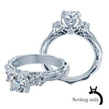 engagement ring settings only venetian engagement ring setting 5013r 4