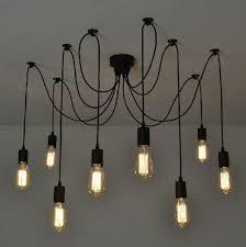 antique classic ajustable diy ceiling spider lamp light retro