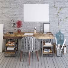 plan de bureau en bois bureau pour ado 65 idées déco sympas pour un bureau de fille ou