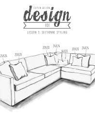 Couch Drawing Step By Step Caitlin Wilson Design 101 Lesson 3 Sectional Styling