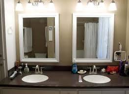 cheap bathroom mirror black bathroom cabinets with mirror wwwislandbjjus terhune