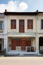lucky shophouse in joo chiat singapore architecture pinterest