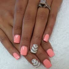 beautiful nails and color acrylic nails designs