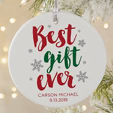 best gift personalized baby ornament