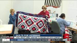 blocks for the brave come together to make quilts for