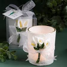 candle favors stunning calla design candle favors 36 kitchen