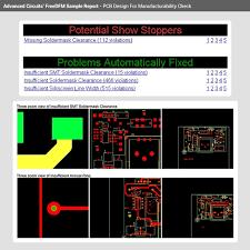 printed circuit board design check freedfm com advanced circuits