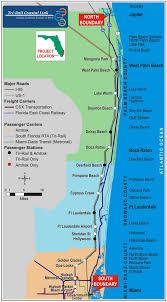 Csx Railroad Map Tri Rail Map Miami Tri Rail Map Florida Usa