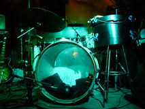 Drum Set Lights Drummer Silhouette Stock Photos Royalty Free Pictures