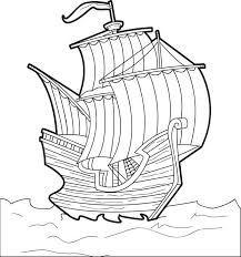 viking ship coloring page free printable the mayflower coloring page for kids