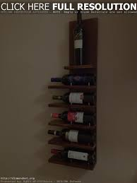 wine rack on wall modern wall decoration ideas