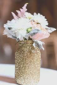 jar flower centerpieces gold jar wedding centerpieces awesome from my wedding i now