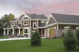 luxurious craftsman home plan 14419rk architectural designs