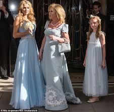 paris hilton stuns in powder blue bridesmaid dress at sister