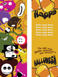 spooks and ghouls and creeps and fools get monster bookmarks