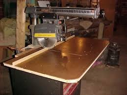 Craftsman Radial Arm Saw Table Photo Index Sears Craftsman 113 23100 Vintagemachinery Org