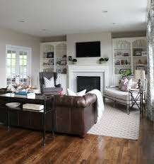 Leather Sofa In Living Room Paint Ideas Living Room Brown Furniture Colors Of Living Room