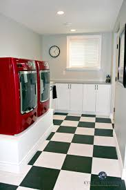Stonington Gray Benjamin Moore Benjamin Moore Stonington Gray In Laundry Room Red Washer And