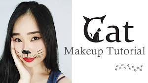 simple cat makeup halloween cat makeup tutorial for carnival halloween tutorial makeup