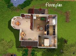 Eco Friendly Floor Plans Mod The Sims The Eco Friendly Cabin