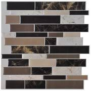 stick on kitchen backsplash tiles peel stick backsplash tiles