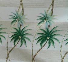 Hawaiian Curtain Fabric Palm Tree Upholstery Fabric Ebay