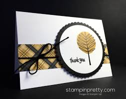 stampin up thanksgiving cards ideas super quick totally trees thank you card stampin u0027 pretty
