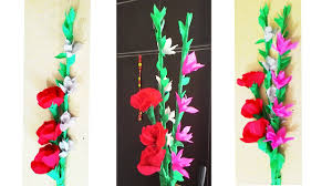 crepe paper flowers how to make crepe paper flower bunch diy paper flower
