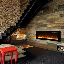 Electric Fireplace Wall by Regal Flame Fusion 50 Inch Built In Ventless Heater Recessed Wall