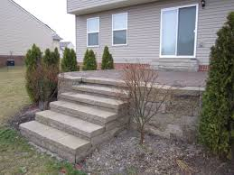 Raised Paver Patio Elevated Brick Pavers Patio Steps Are Rebuilt Brick Paver
