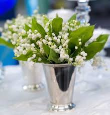 Flower Table Inspirations For Lily Of The Valley Bouquet Everafterguide
