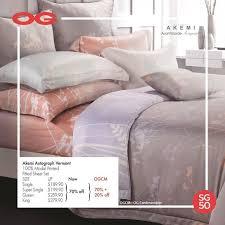 Akemi Bed Linen - og akemi autograph fitted sheet set 70 20 ogcm bq sg