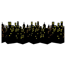 cityscape backdrop skyline backdrop decoration spritz target