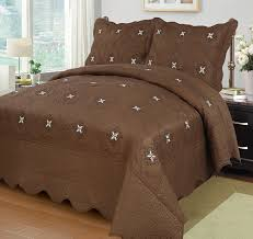 King Size Quilted Bedspreads Amazon Com Marcielo 3 Piece Fully Quilted Embroidery Quilts