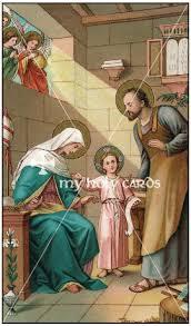 holy family images st joseph images catholic prayer cards